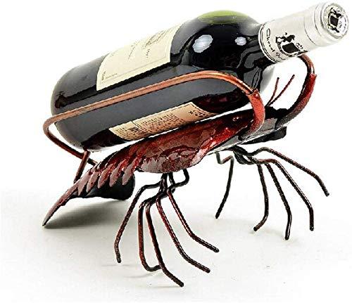 XYNB Weinorganisatoren Display Glashalter Metall Flaschenregal Ständer Flaschenlagerung Weinorganisator Weinregal Wine Collection, A, A