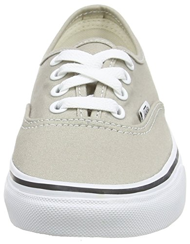 Vans Authentic Marble, Chaussures Mixte Adulte blanc (Aluminum/True White)
