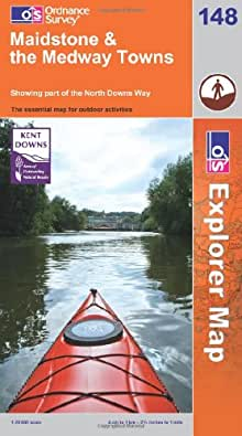 Maidstone and the Medway Towns (OS Explorer Map)