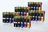 PGI-525 CLI-526 Printing Saver 25 Tintenpatronen kompatibel für Canon Pixma IP4800, 4820, 4840, 4850, 4870, 4950, MG5120, 5140, 5150, 5170, 5220, 5240, 5250, 5270, 6120, 6140, 6150, 6170