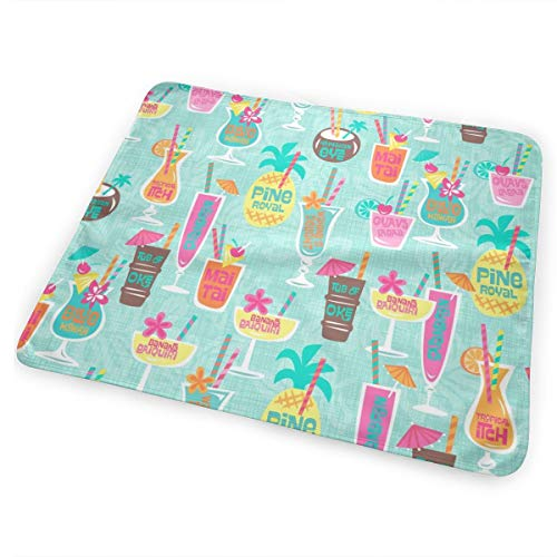 Harrys Cocktails Aqua Washable Incontinence Pad Baby Changing Pad Pet Mat Large Size 25.5 x 31.5 inch (65cm*80cm) -