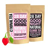 Functional Tea; 28 Day Detox and Cleanse Tea | 28 Day Supply | Loose Leaf Tea | Made in UK
