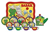 Schylling BABAR The Elephant TIN TEA SET by Schylling