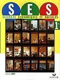 Sciences économiques et sociales 1e by Didier Anselm (2007-05-09)