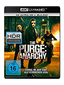 The Purge 2 - Anarchy  (4K Ultra HD) (+ Blu-ray 2D)