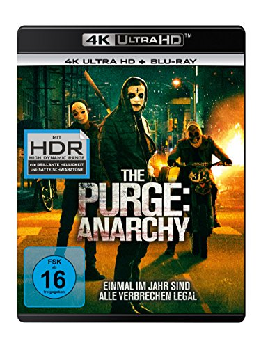 The Purge 2: Anarchy - Ultra HD Blu-ray [4k + Blu-ray Disc]