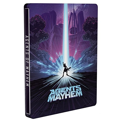 Agents of Mayhem -Day One Edition Steelbook Edition (XBOX One) [importación inglesa] 513dNAHThML