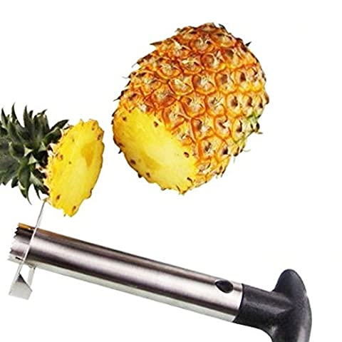 Ieasycan Useful Fruit Pineapple Peeler Corer Slicers Cutter Kitchen Tools Kits Easy Pineapple Peeling Knife Fruit Salad Home