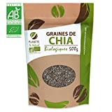 Graines de Chia Bio - 500g (Salvia hispanica)