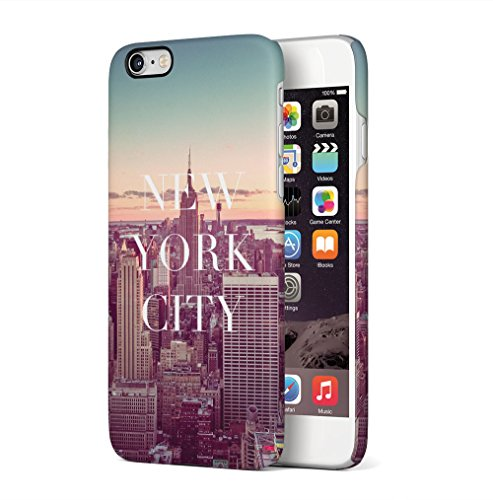 New York City Empire State Building Apple iPhone 6 / iPhone 6S SnapOn Hard Plastic Phone Protective Custodia Case Cover New York City