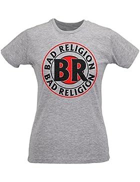 Camiseta Mujer Slim Bad Religion