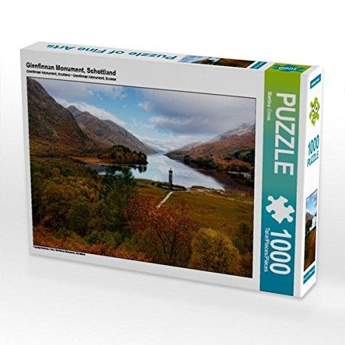 Preisvergleich Produktbild Glenfinnan Monument, Schottland 1000 Teile Puzzle quer (CALVENDO Orte)