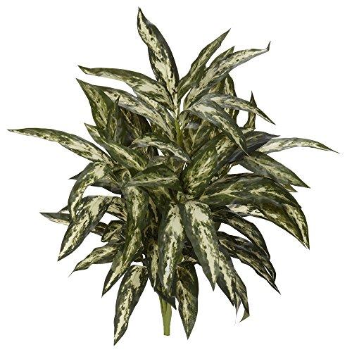 "Nearly Natural 30"" Aglaonema Artificial Plant (Set of 3) Künstliche Pflanze, Plastik, Grün"