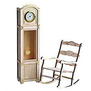 ARTESANÍA LATINA 30201 - Reloj para Abuelo (latón, decoración), diseño de Silla