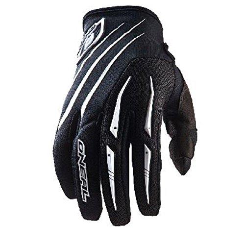 O'Neal Element MX DH Handschuhe Schwarz Weiß Moto Cross Mountain Bike Downhill Motorrad Glove, 0396-1, Größe X-Large
