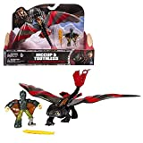 Dragons - Action Game Set - Drago Sdentato con le ali mobili e Coach Hiccup