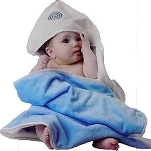 quarantasettimane babyhug serviette de bain bleu b b s pu riculture. Black Bedroom Furniture Sets. Home Design Ideas