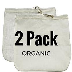 Gaia Guy Nussmilchbeutel 2Pack. handelsüblicher Qualität & wiederverwendbar-30,5x 30,5cm