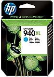 HP 940XL Blau Original Druckerpatrone mit hoher Reichweite für HP Officejet Pro 8500, 8500A, 8000