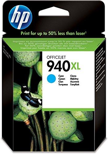 Preisvergleich Produktbild HP 940XL Blau Original Druckerpatrone mit hoher Reichweite für HP Officejet Pro