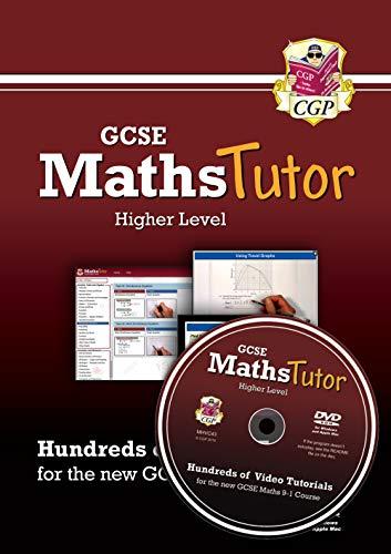 MathsTutor: GCSE Maths Video Tutorials (Grade 9-1 Course) Higher - DVD-ROM for PC/Mac (CGP GCSE Maths 9-1 Revision)