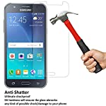 DMG Samsung Galaxy J7 Tempered Glass Screen Protector   The tempered glass is designed to protect the phone from knocks and scratches. With an industry-high 9H hardness (harder than a knife's blade), this protector is virtually impossible to scratch,...