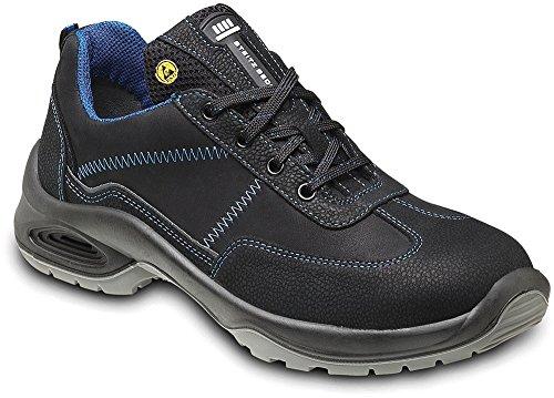 STEITZ SECURA Sicherheits-Halbschuh Sicherheits-Schuh Arbeitsschuhe ESD AL742 PLUS S2 SRC - EN ISO 20345 - Mehrweitensystem - Größe: 43