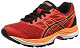Asics Gel-Cumuilus 18 GS, Zapatillas de Running Unisex Niños, Naranja (Vermilion/Black/Hot Orange), 37 EU
