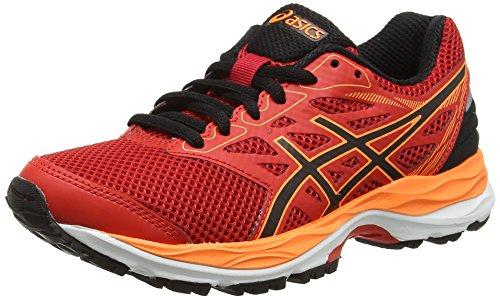 Asics Gel-Cumuilus 18 GS, Zapatillas de Running Unisex niños, Naranja (Vermilion/Black / Hot Orange), 37.5 EU