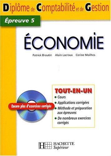 Economie DCG5 (1Cédérom)