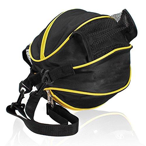 FakeFace Unisex Oxford Gewebe Sporttasche für Basketball Fußball Volleyball Schultertasche Umhängetasche