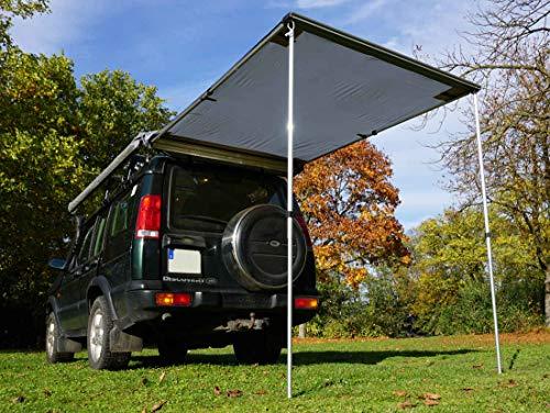 Prime Tech Markise 150x200x210 cm zum Autodachzelt in beige