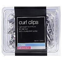 Salon Services Curl Clips 72 Pack