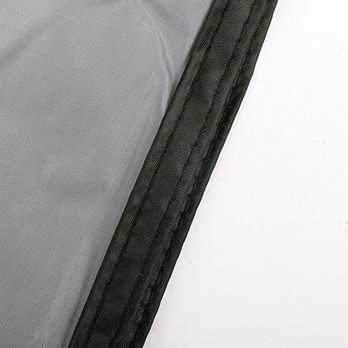 Sonnensegel für Wohnwagen & Wohnmobil grau 3,50 x 2,4 , für Kederleisten 7 mm,Wassersäule 2000 mm - 5
