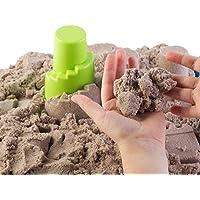 Formen Bastelsand Knetsand Zaubersand Kinetischer Sand SPIELSAND LILA 2kg Eimer