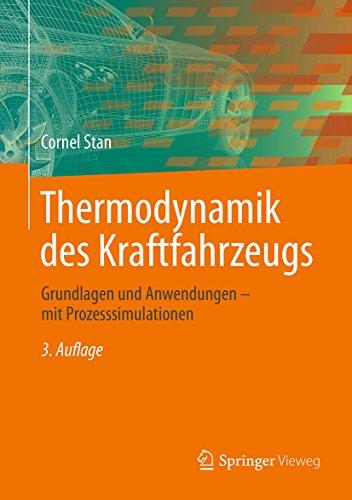 Thermodynamik des Kraftfahrzeugs: Grundlagen und Anwendungen - mit Prozesssimulationen