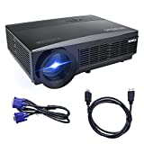 Proiettore, Videoproiettore Full HD 3300 Lumen LCD 1080p 1280*800 LED Multimedia...