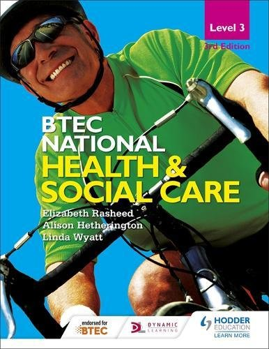 BTEC National Level 3 Health and Social Care 3rd Edition (BTEC 2016)