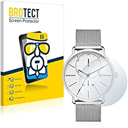 [1 Pack] Protector Pantalla Skagen Hagen Connected Hybrid Smartwatch (42mm) Cristal Vidrio - AirGlass Glass Screen Protector