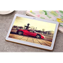 Bst Gold 10 inch Tablet 4G LTE Phone 8 core Tablet PC Octa Cores Android 6.0 2560X1600 IPS RAM 4GB ROM 64GB 8.0MP 4G Dual sim card Phone Call Wcdma+GSM Tablets PCS Bluetooth WIFI GPS electronics 4G network 7 9.7 10
