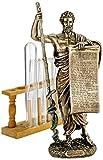 Design Toscano Hippokrates von Kos, Vater der Medizin, Figur