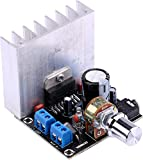 Yeeco DC 12V 35W + 35W Digital Audio Power Verstärker Vorstand 2.0 Dual Kanal Stereo Amp Brett Tafel Verstärken Modul für 20W-120W Standlautsprecher Regal-Lautsprecher