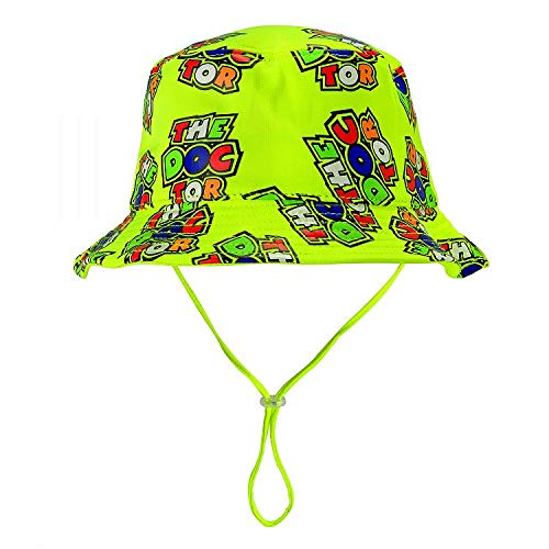 Valentino Rossi VRKFH354003, Sombrero Pescador The Doctor all Over Bebé Unisex, Amarillo,...