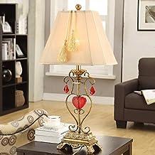 BMKY lámpara de mesa Lámpara de mesa Salón Simple lámpara creativa Lámpara de mesa retro Lámpara de escritorio de estudio Lámpara de mesa decorativa lámpara de mesa
