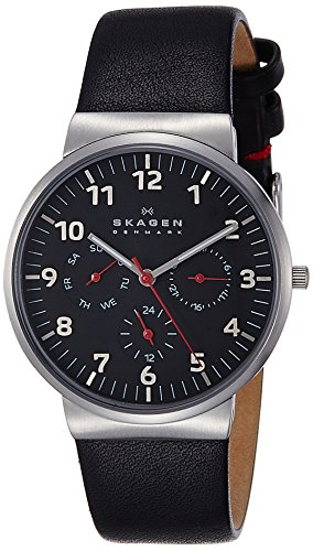Skagen End of Season Ancher Analog Black Dial Men's Watch...