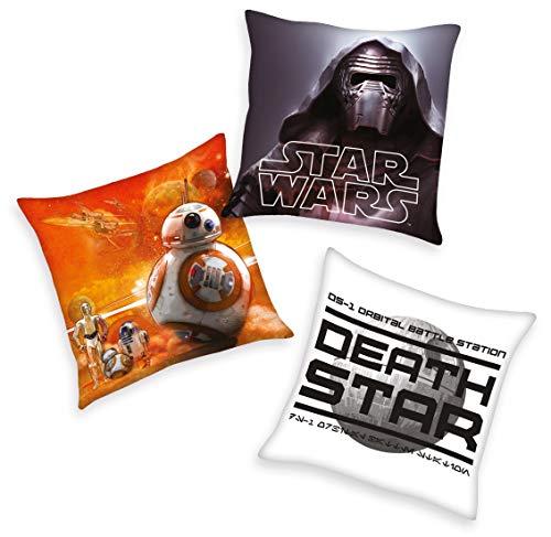 Set BB8 Darth Vader Todesstern 40x40 cm gefüllt ()