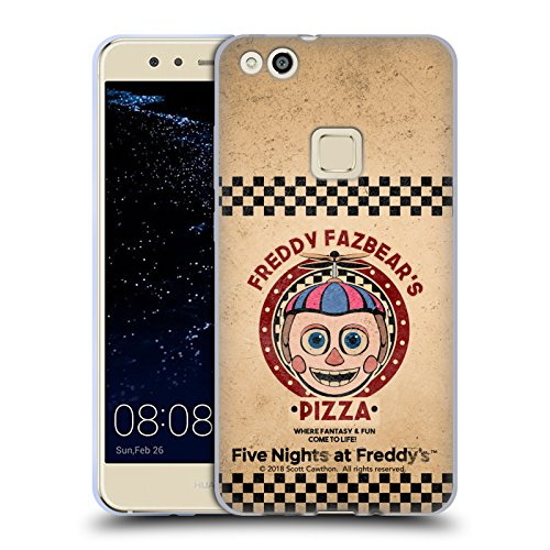 Official Five Nights At Freddy's Balloon Boy Freddy Fazbear's Pizza Soft Gel Case for Huawei P10 Lite