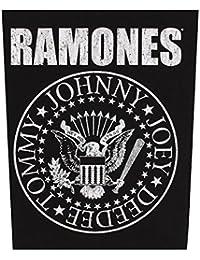Ramones Classic Seal Parche espalda negro-blanco