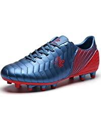 2a7e0ba10 Unisex Kids Football Boots FG TF Teenager Soccer Shoes Athletics Training  Shoes Outdoor Sports Sneakers