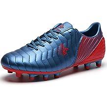 Botas de Fútbol Niño FG/TF Zapatillas Futbol Sala Niña Ligero Zapatos de Deporte Unisex
